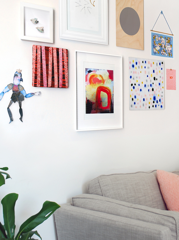 How to create the perfect gallery wall for your home - We Are Scout