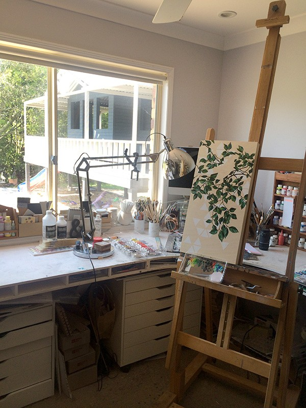 Alex Tebb - aka Alex Louisa - studio tour and interview