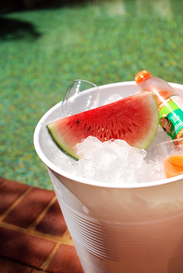 Ice bucket in an instant: 5 ways with Target Australia's $12 giant plastic cup stool.