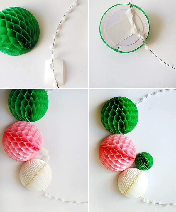 Make a fast and easy DIY modern Christmas wreath