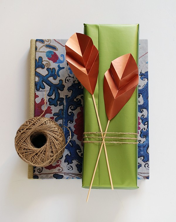 We-Are-Scout_folded-paper-leaf-gift-toppers