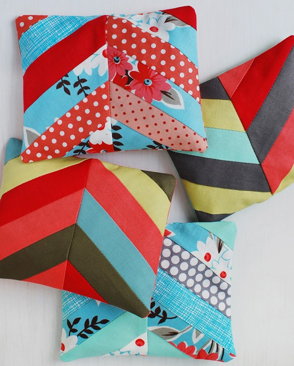 patchwork sented sachets