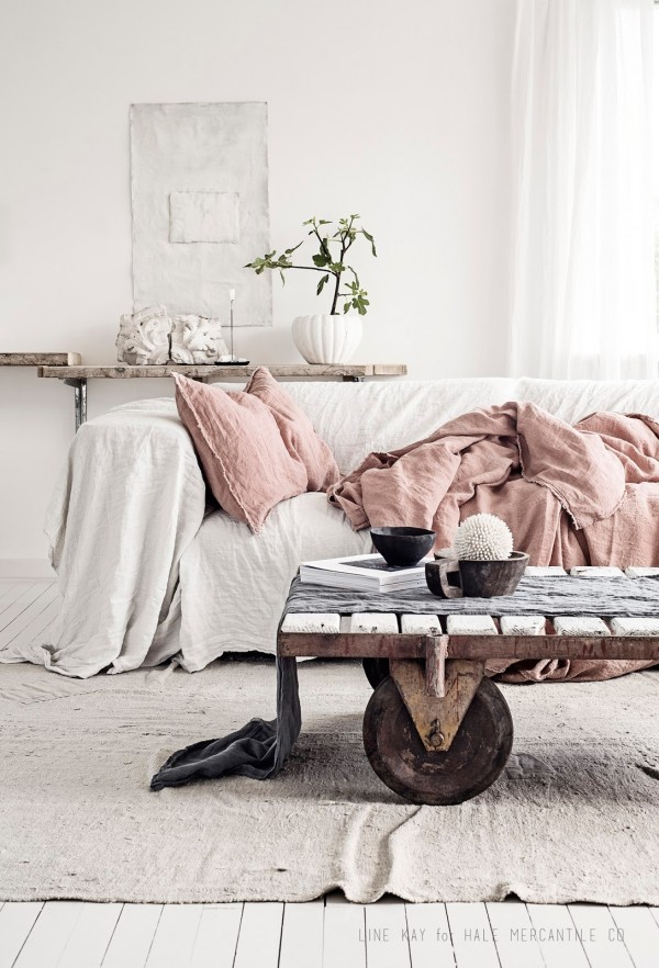 Hale Mercantile linen. Photo by Line Kay