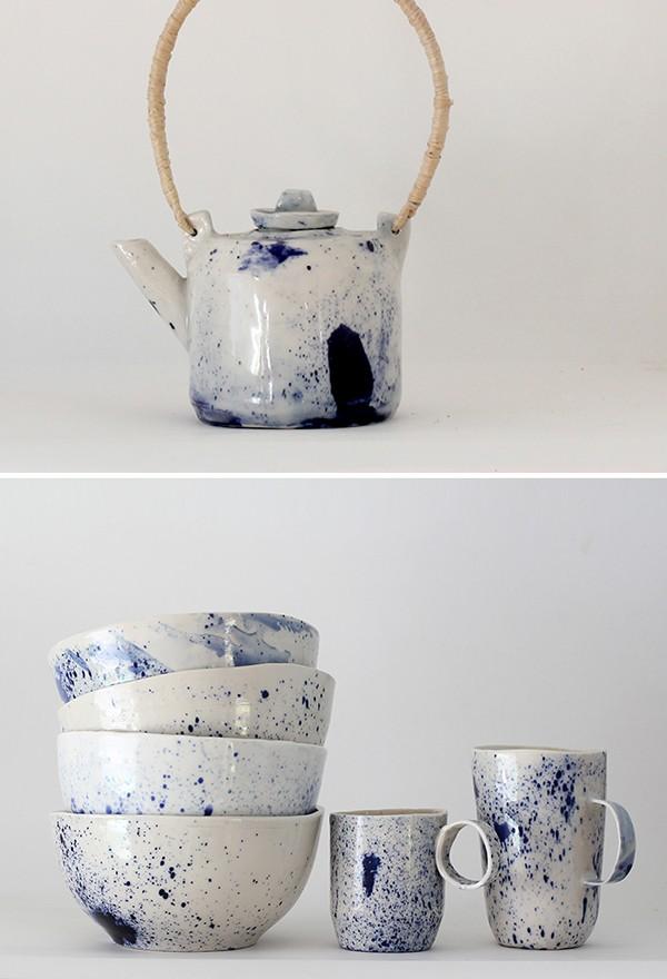 Australian ceramic artists - La Petite Fabrique de Brunswick