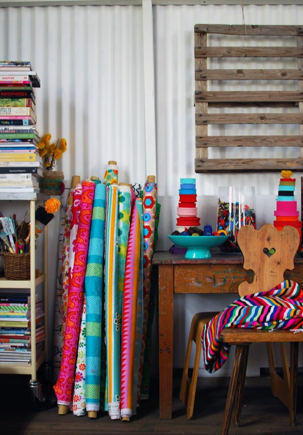 TOP 20 posts on We Are Scout 2015 - tour of Prints Charming's Sydney studio