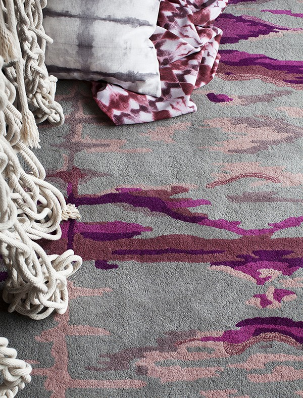 SCOUTED: Tappeti x Shibori handcrafted rugs - We Are Scout