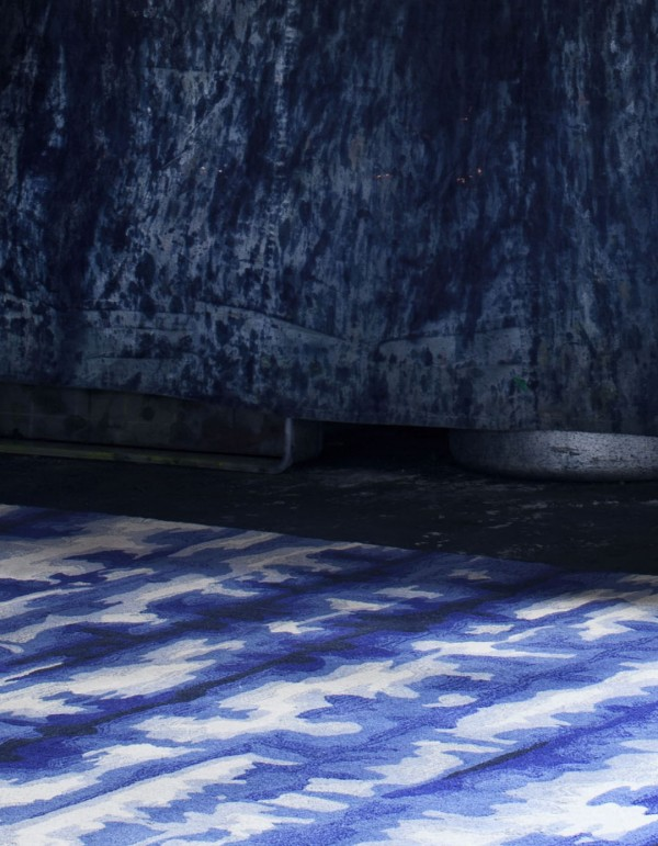 Shibori x Tappeti rug collaboration