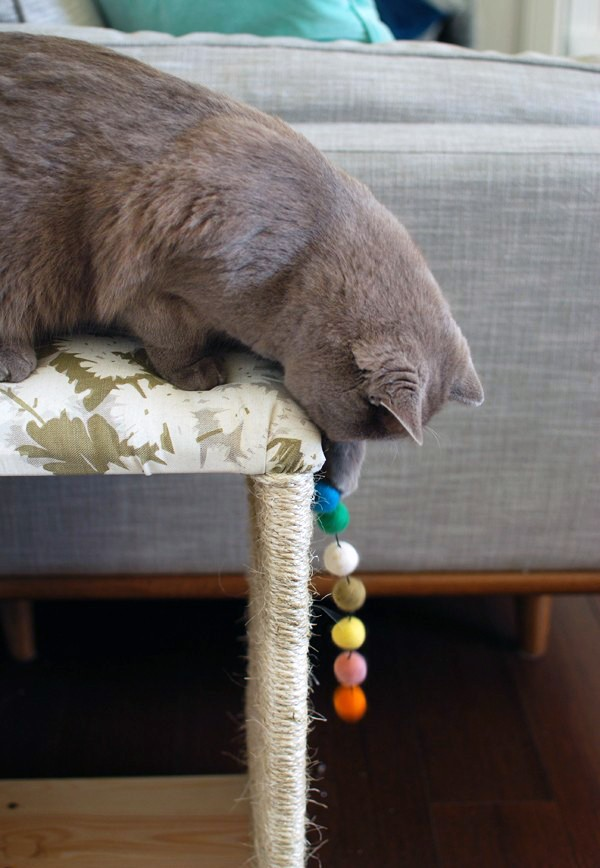 TOP 20 posts on We Are Scout 2015 - Ikea hack - make a modern cat scratcher