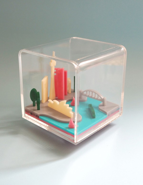 MeKean Studio - Sydney Mini City - not your kitsch souvenir!
