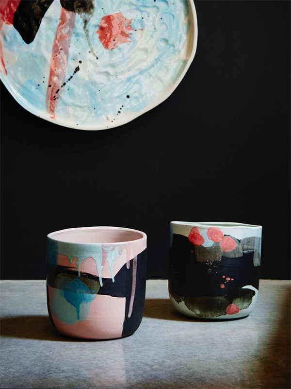 'Constellation' ceramics range by Karen Morton