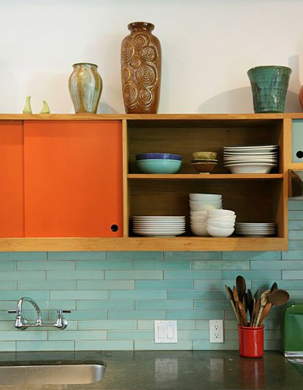 Colour in the Kitchen - the best examples.