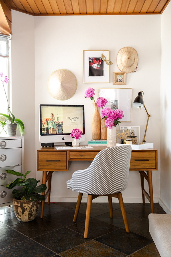 INTERIOR SCOUT: An eclectic home office makeover