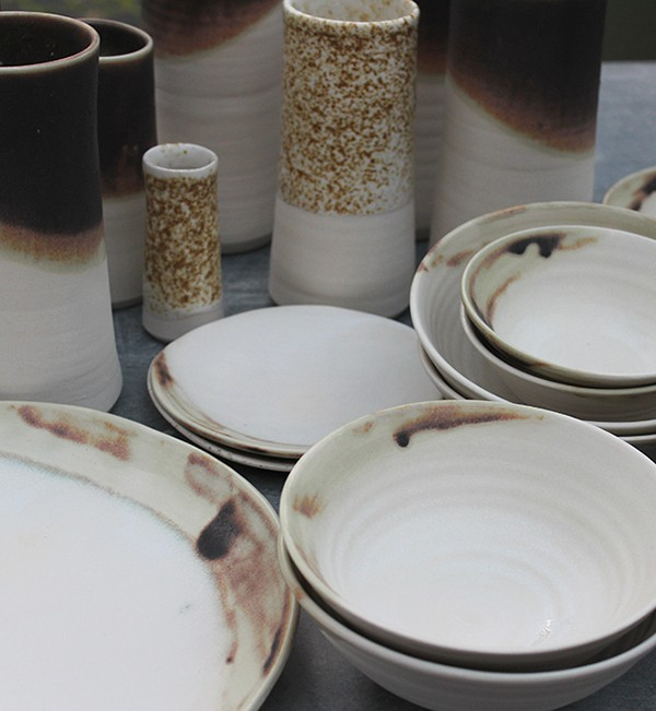 Ceramics by Elke Lucas. Interview and studio tour.