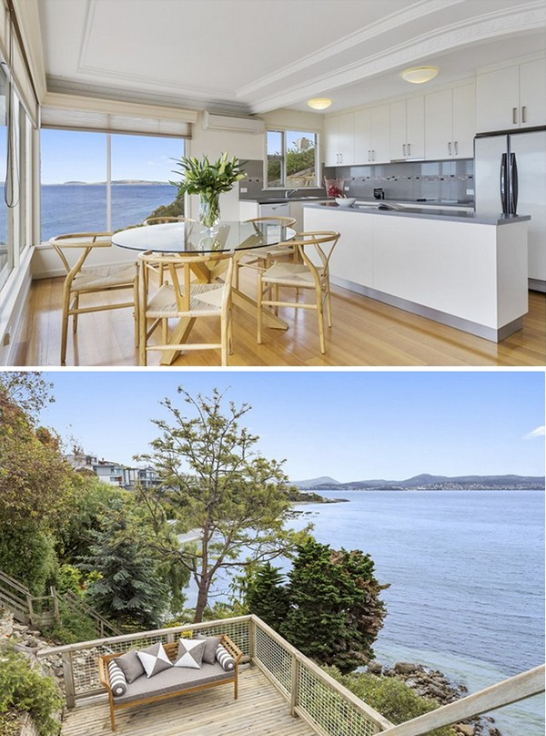 Hobart houses for sale - Sandy Bay waterfront