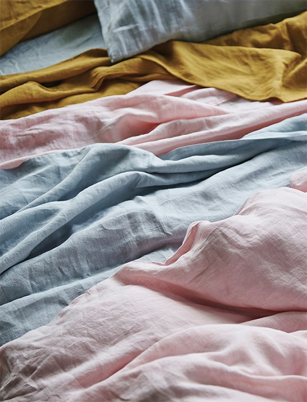 Australian bed linen at it's best. New season sheets in lush linen.