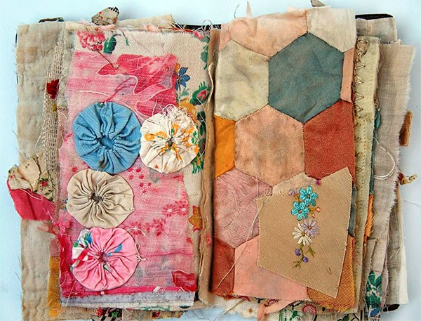 Textile artist Mandy Pattullo fabric collage