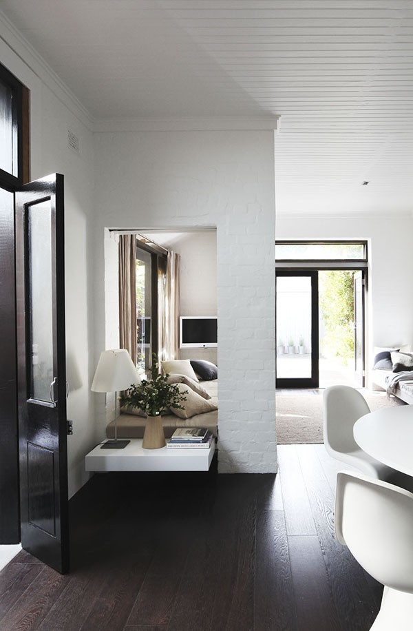 House tour. Whiting Architects - an award winning Melbourne practice - designed this handsome monochromatic home.