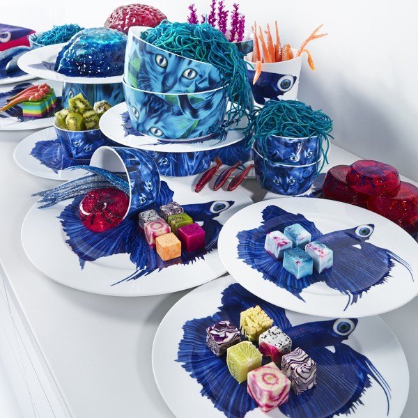 Katie Eary has collaborated with IKEA to produce the GILTIG range of homewares. Katie Eary x Ikea.
