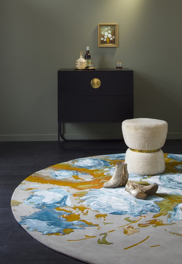 MAVIS rug designed by Petrina Turner for Designer Rugs