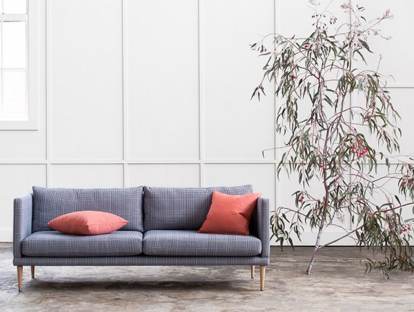 This is outdoor furniture! The Buckley sofa from Outside Envy.