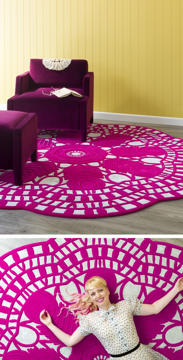 EVELYN rug designed by Petrina Turner for Designer Rugs