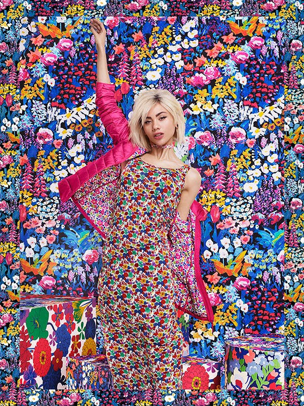 Liberty for Uniqlo collaboration - an expolsion of colour and pattern