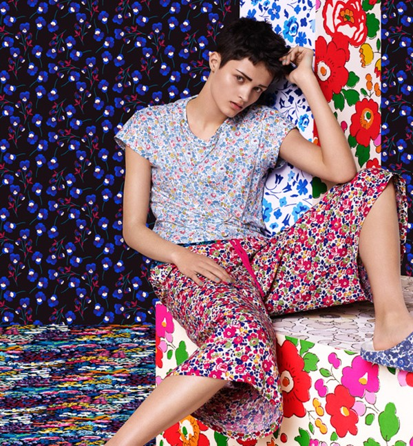 UNIQLO liberty collaboration womenswear