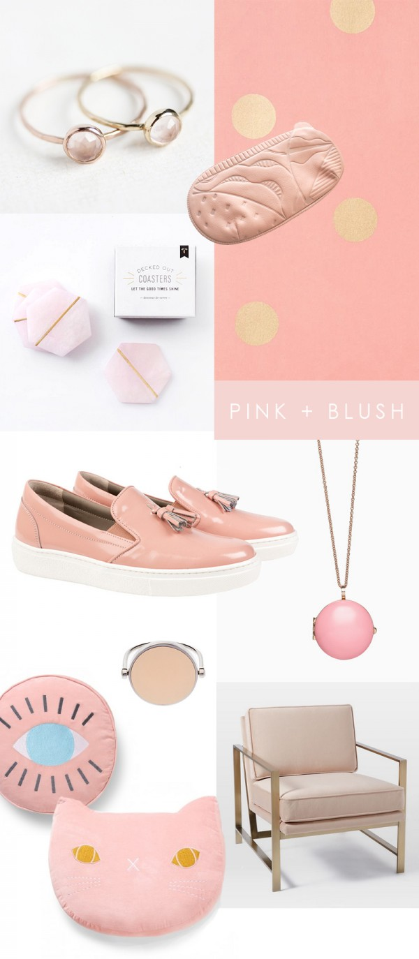 We Are Scout pink and blush gift guide