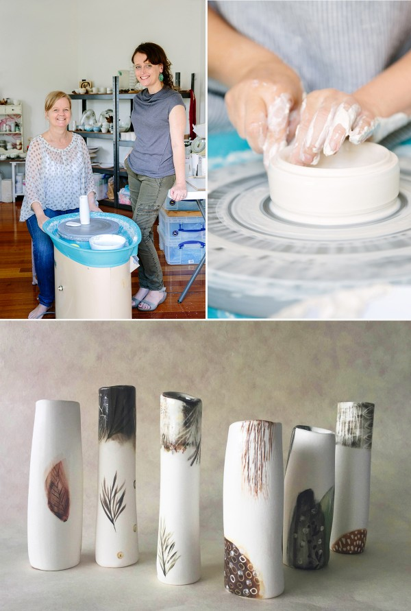 New Australian ceramics collaboration: TTMade Ceramics, via We Are Scout.