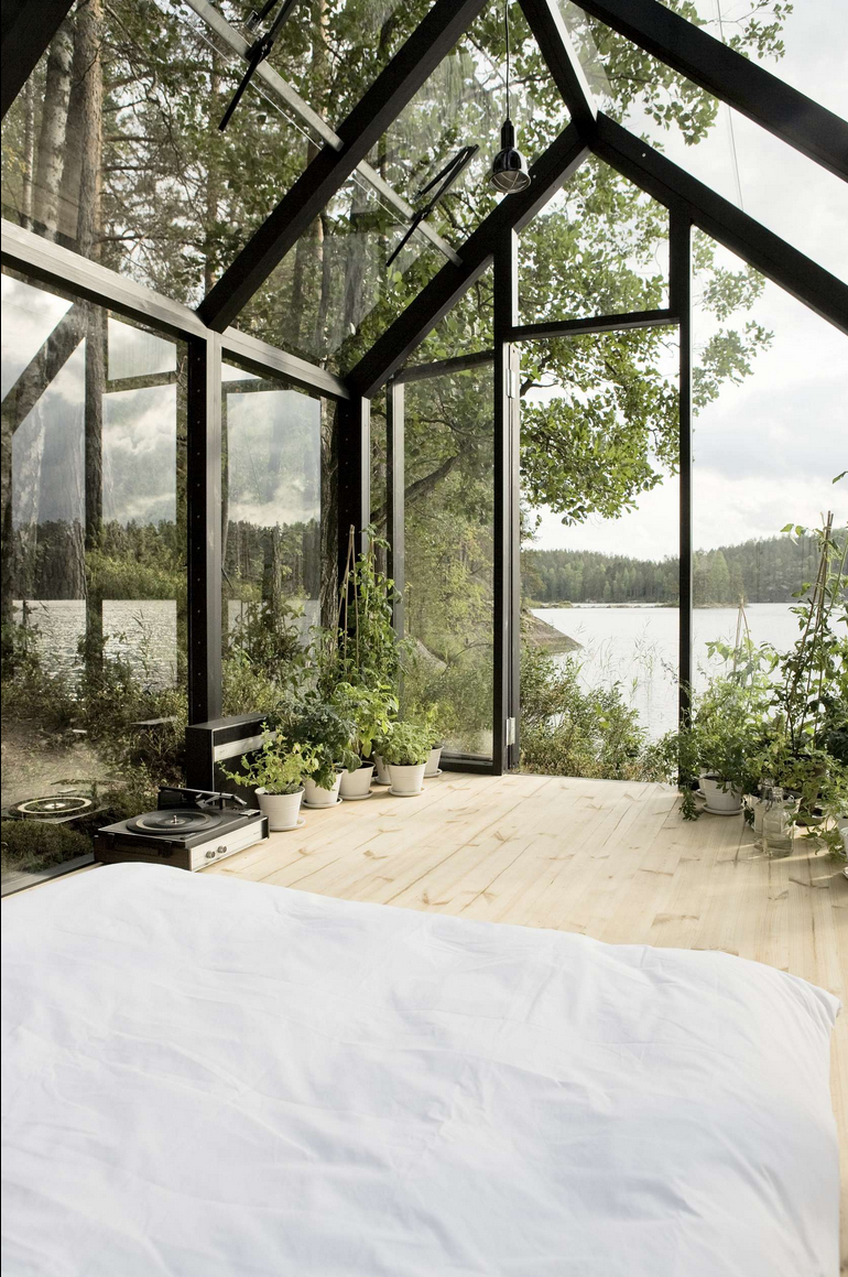 Outstanding Greenhouse Turned Summer House In Finland We Are Scout Home Interior And Landscaping Dextoversignezvosmurscom