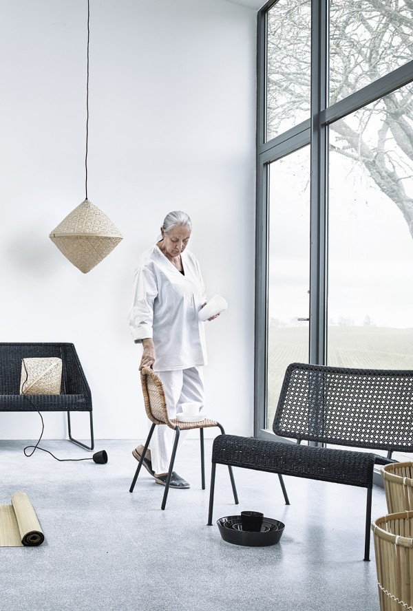 A collaboration of craftmanship: Ingegerd Råman and IKEA