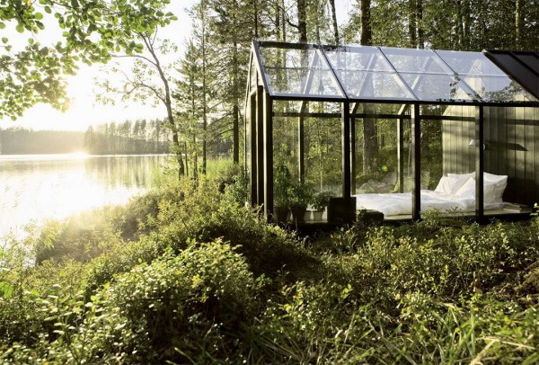 Prefab Greenhouse turned Summer House in Finland