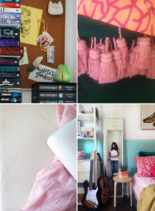 tiny bedroom makeover for a tween