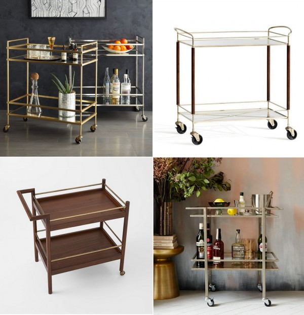 Bar Carts to buy now