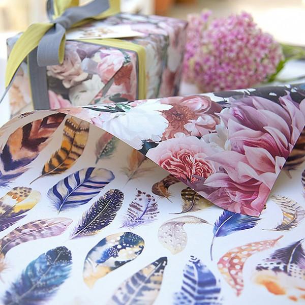 Bespoke Letterpress gift wrap