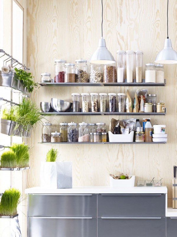 How to make the most of limited space in a small kitchen we are scout - Kitchen solutions for small spaces pict ...