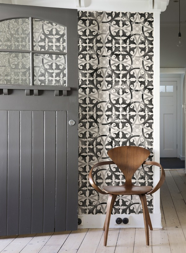 Quercus removable wallpaper tiles