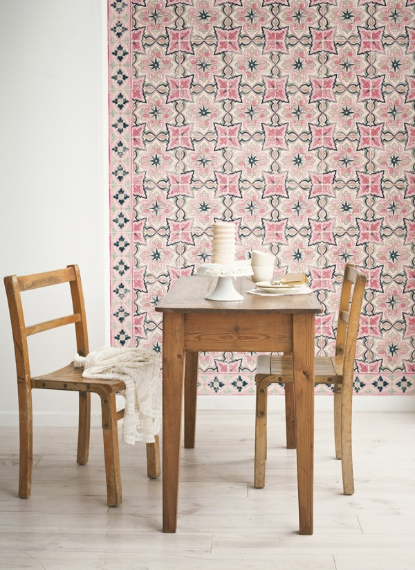 Removable Wallpaper Tiles first look: quercus & co removable wallpaper tiles - we are scout