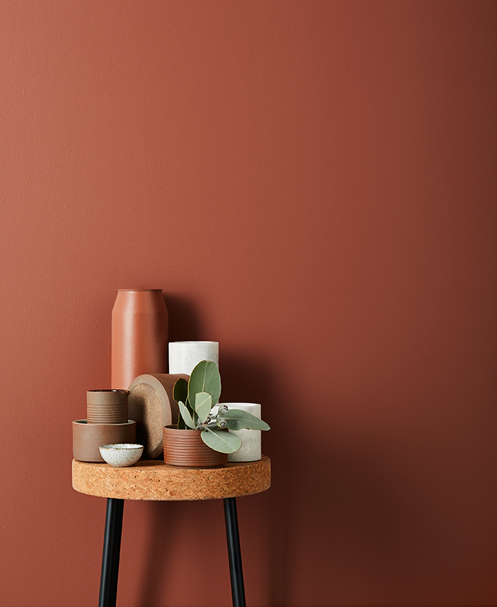 Lightly Cinnamon homewares. Beautiful colour palette including retro terracotta.