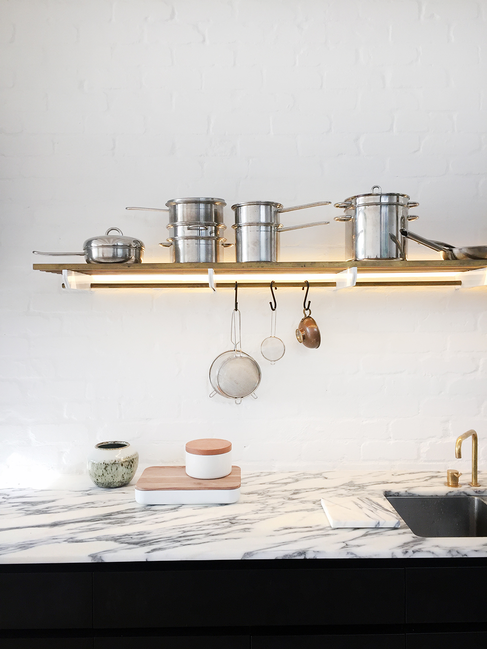 Kitchen goals. Inner city Sydney terrace house.