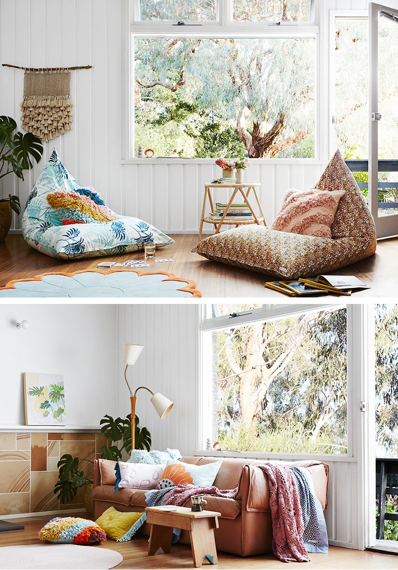 'Love Shack' collection by Sage and Clare. Australian homewares.