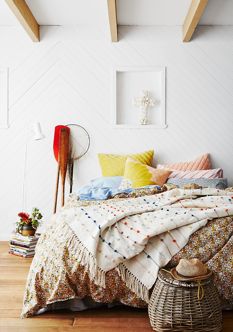 Beautiful bedlinen by Australian brand Sage and Clare.