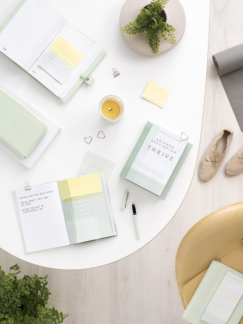 The gorgeous kikki.K Arianna Huffington Thrive collection