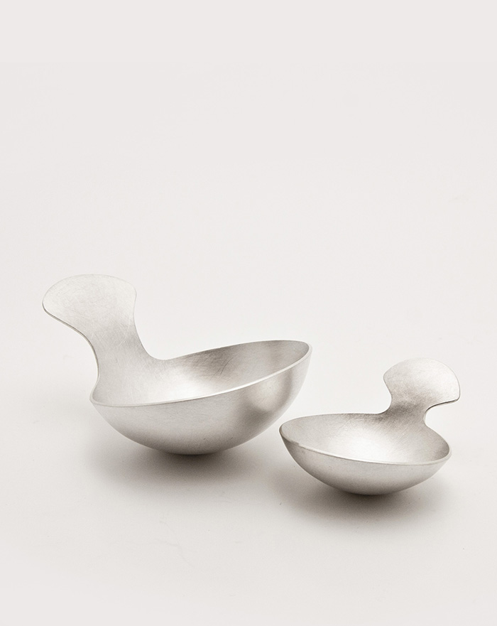 Alison Jackson silversmith - siver scoops