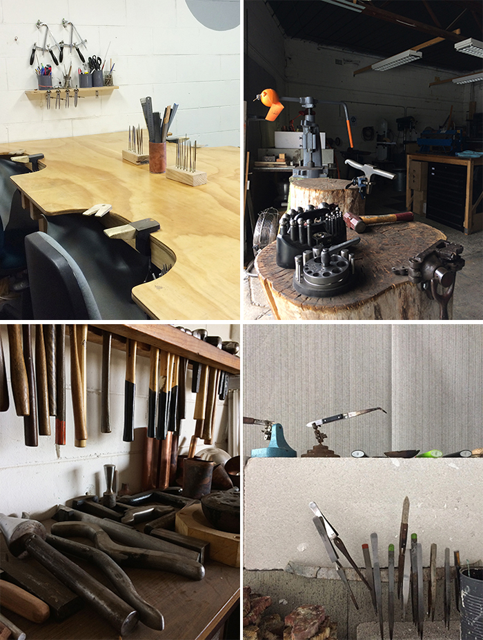 Alison Jackson silversmith - studio visit and interview
