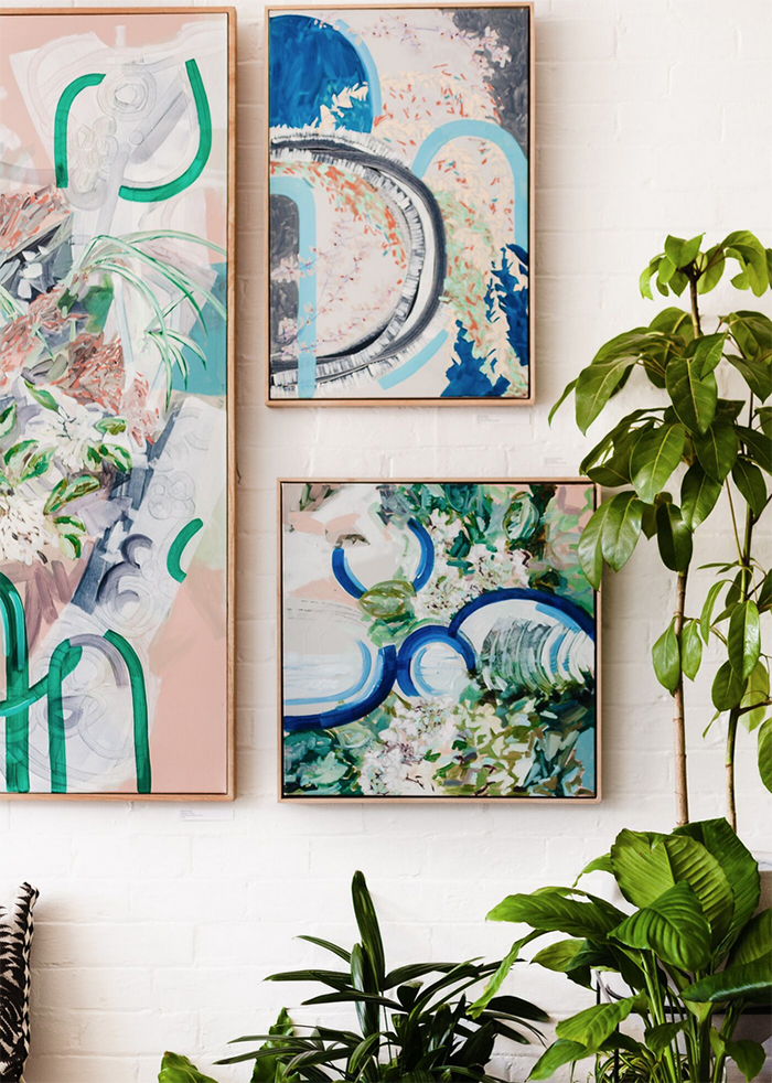 Melbourne artist Amy Wright exhibiting at Ivy Muse Botanical Emporium
