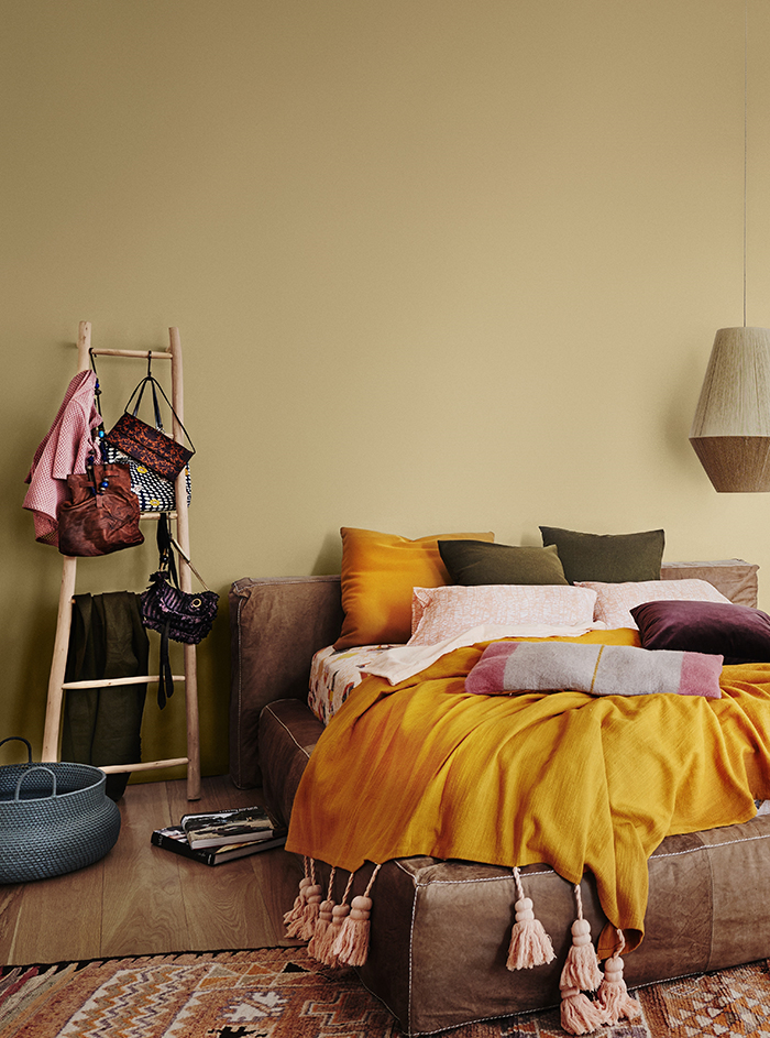 First look at interiors colour trends 2017. Dulux Colour Forecast.