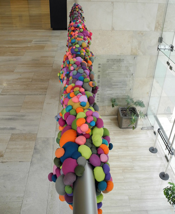 Serena Garcia Dalla Venezia - Chilean textile artist