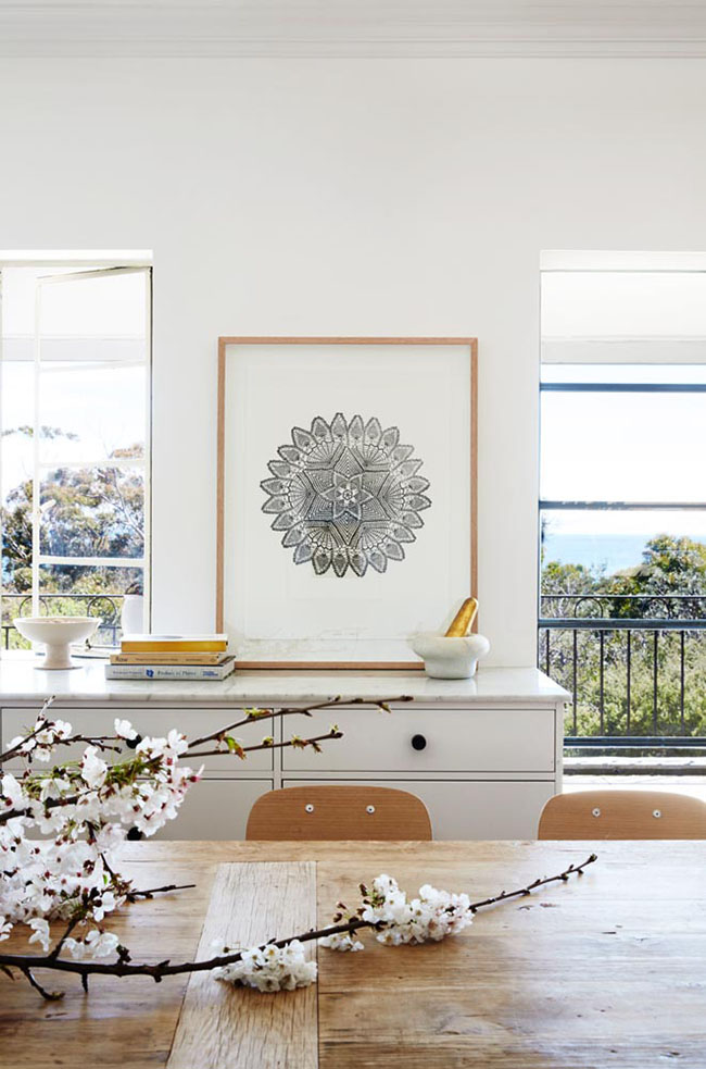 The Lumier Art + Co House - holiday rental. Art by Emma Cleine.