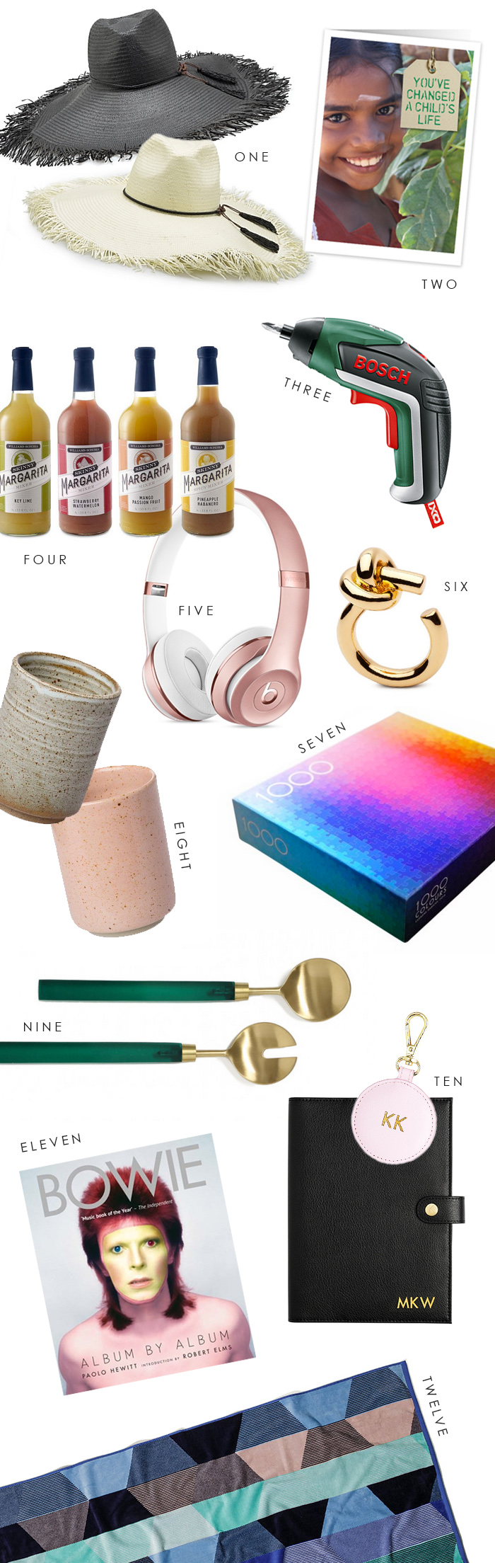 Last minute Christmas gift guide. !0 things to buy online or in store that you may not have thought of.
